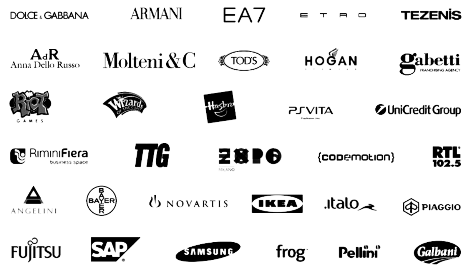 Brand and customer logos