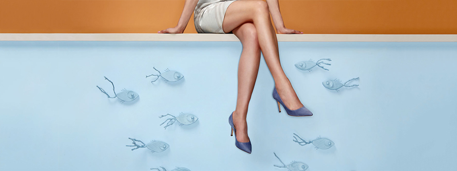 adv campaign of the shoe company Sante Borella