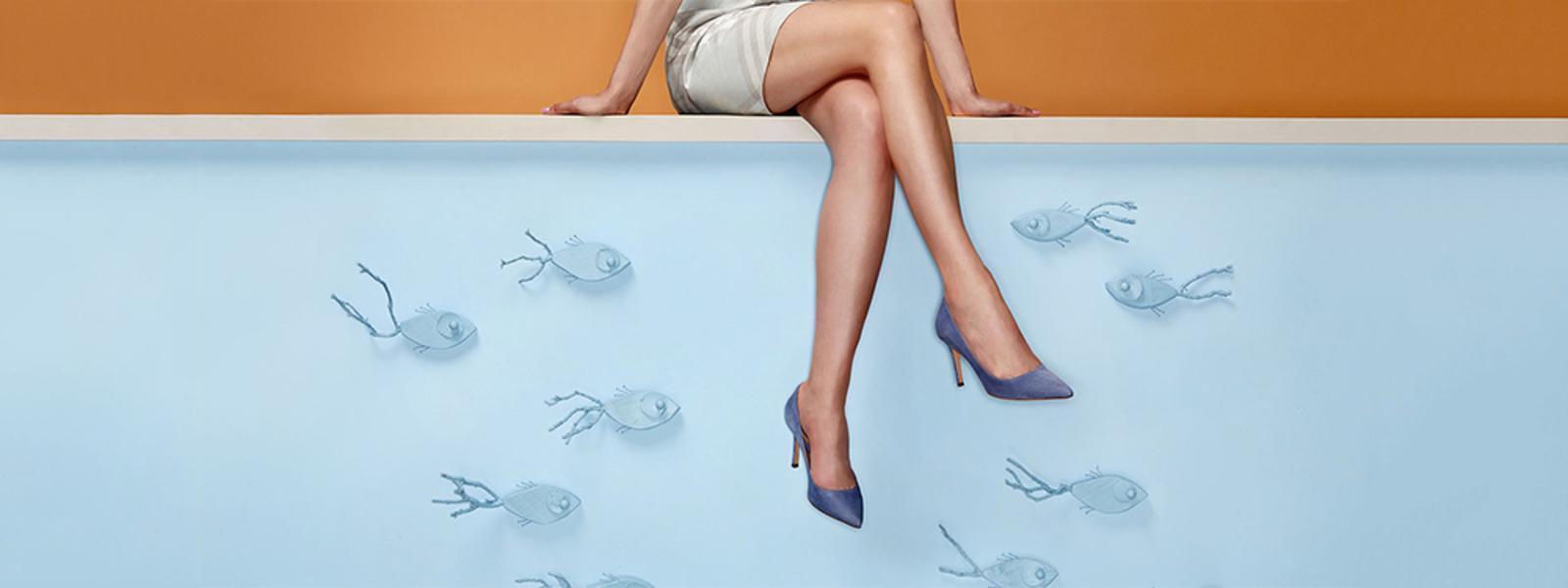 campagna adv dell'azienda di calzature Sante Borella