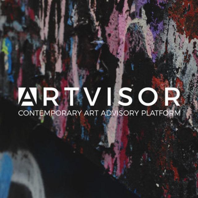 Smart copertina progetto portfolio immagine con pennellate e logo